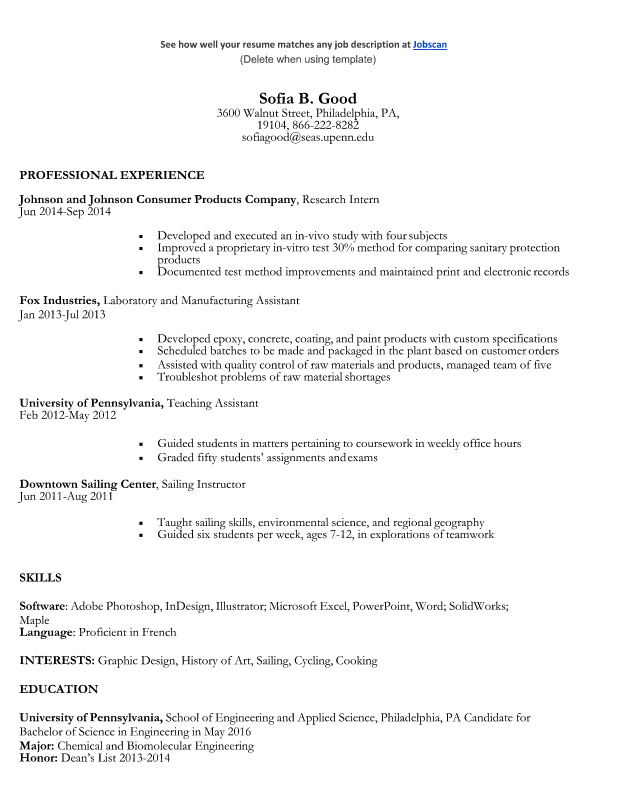 Premium Resume Templates