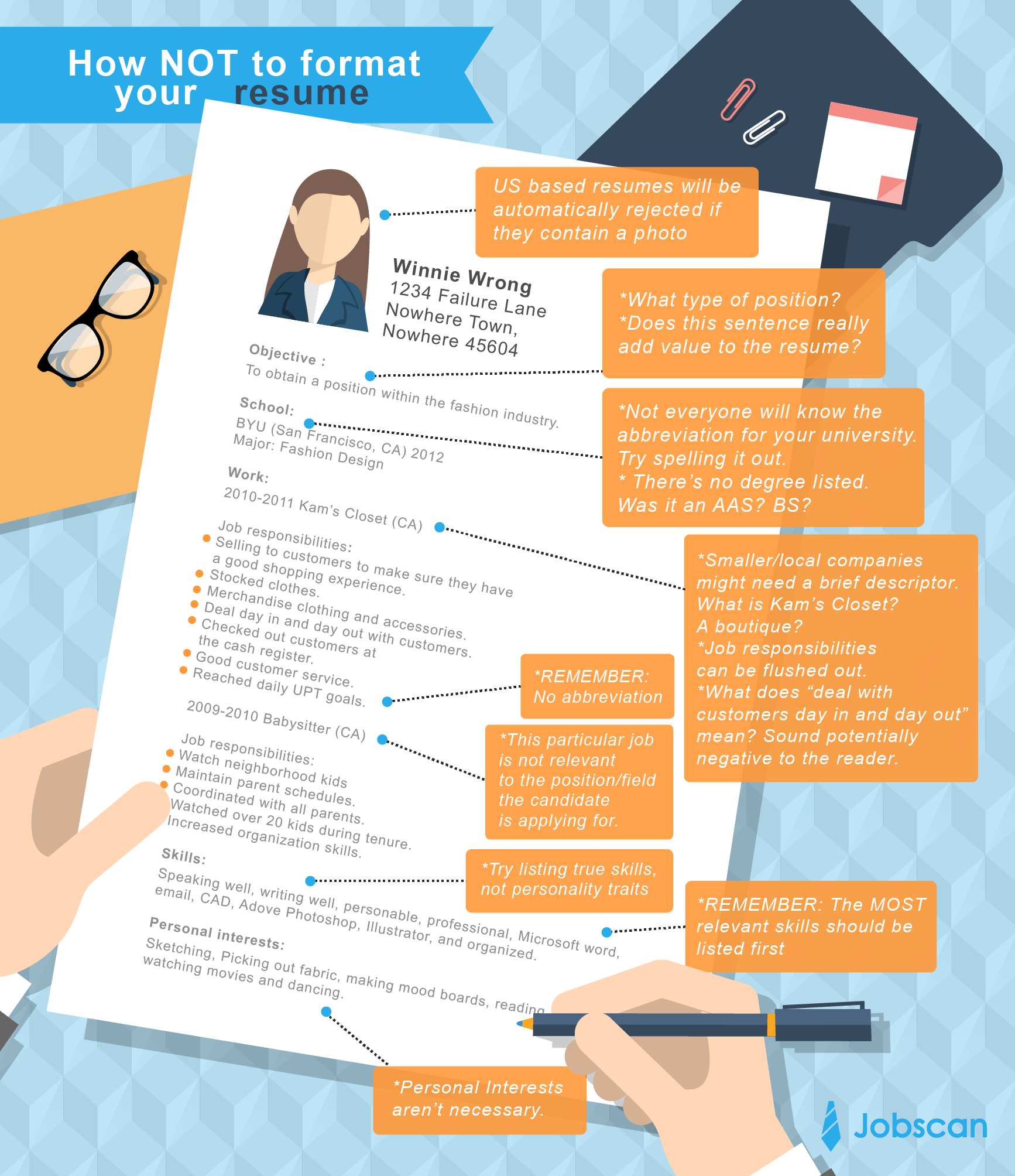 Resume Templates Jobscan