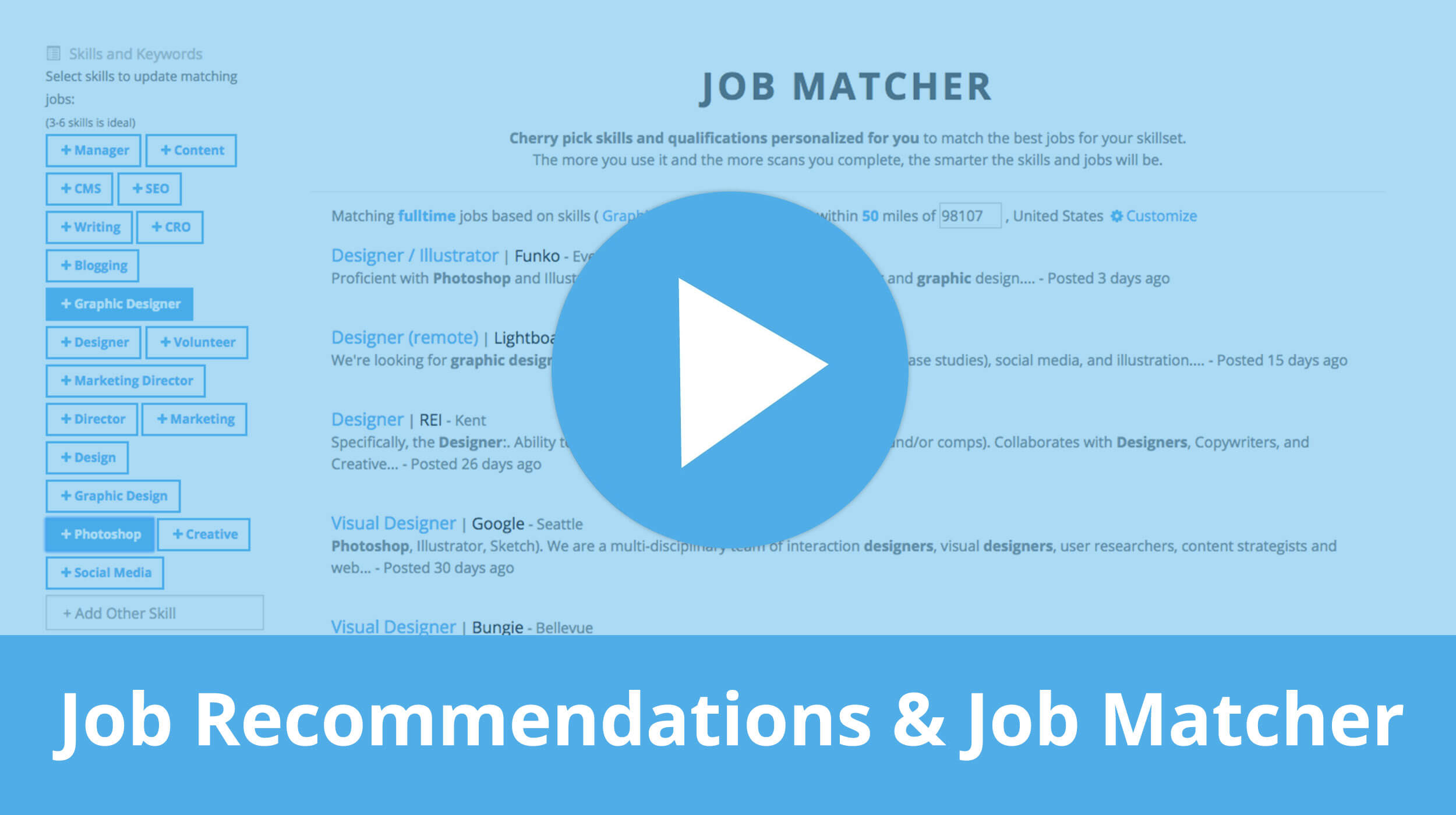 How to find jobs based on your resume skills with the Jobscan Job Matcher tool