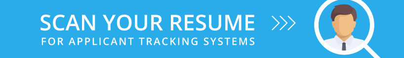Get your resume through the top applicant tracking systems with Jobscan.